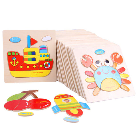 Novelty 30cm Kid Early Educational Toys Baby Hand Grasp Wooden Puzzle Learning Toy - FOB:US$ - MOQ: