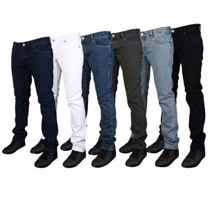 Stretchable Men's Skinny Fit Jeans - FOB:US$ - MOQ:
