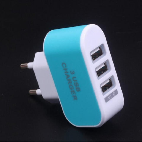 Oem Super Fast Us Eu Plug 5v 3.1a Travel Mobile Phone Charger Wall Usb Charger - FOB:US$ - MOQ: