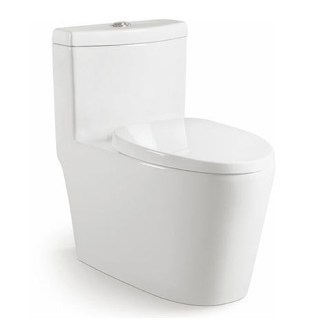 One Piece Toilet For Asian Market - FOB:US$ - MOQ: