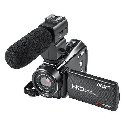 Ordro 1080p 24mp Hd Video Camera Beauty Function16x Digital Video Camera Full Hd Camera - FOB:US$ - MOQ: