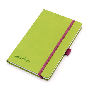 Pu Leather Cover Paper Notebook With Elastic Strap - Buy Leather Notebook,Paper Notebook,Notebook With Elastic Strap Product on Alibaba.com