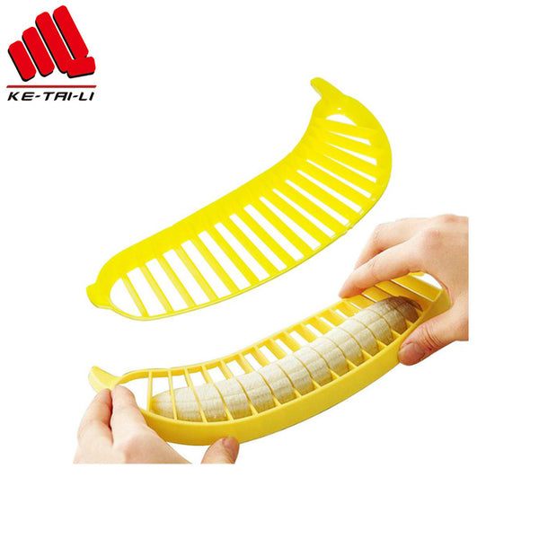 Perfect Abs Fruit Slicer Fruit Banana Cutter Slicing Knife Tools - FOB:US$ - MOQ: