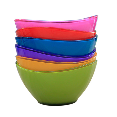 Plastic Kitchen Serving Salad Snack Picnic Bowl - FOB:US$ - MOQ: