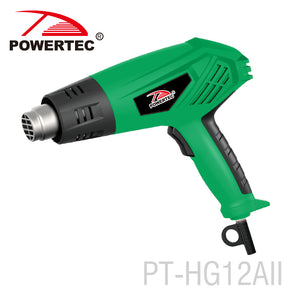 Powertec 2000w Temperature Adjustable Electric Heat Gun - FOB:US$ - MOQ: