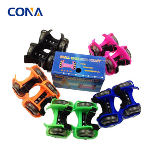 Light Up Wheels That Require No Battery Flashing Roller Skates For Kids And Adults - FOB:US$ - MOQ: