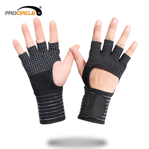 Procircle Half-finger Fitness Weightlifting Gloves - FOB:US$ - MOQ: