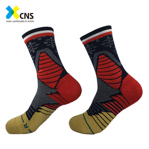 Professional Terry Breathable Mesh Basketball Compression Socks | Buy Tuibos.com