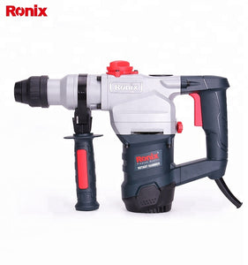 Ronix New Model 2702 1100w 28mm Rotary Hammer Suzhou 28mm Power Tools Rotary Hammer Drills - FOB:US$ - MOQ: