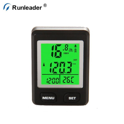 Bicycle Speedometer And Odometer Wireless Waterproof Cycle Bike Computer With Lcd Display - FOB:US$ - MOQ: