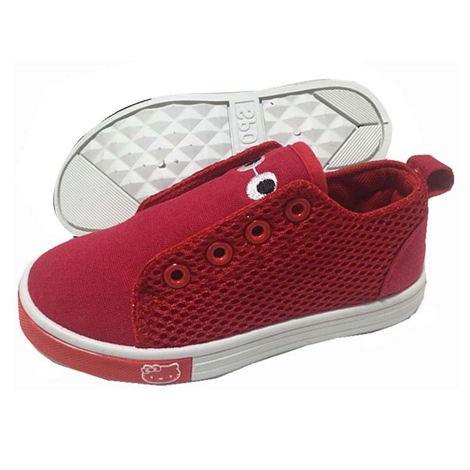 Summer Children Blank Plimsolls Casual Canvas Shoes - FOB:US$4.00 - MOQ:3000