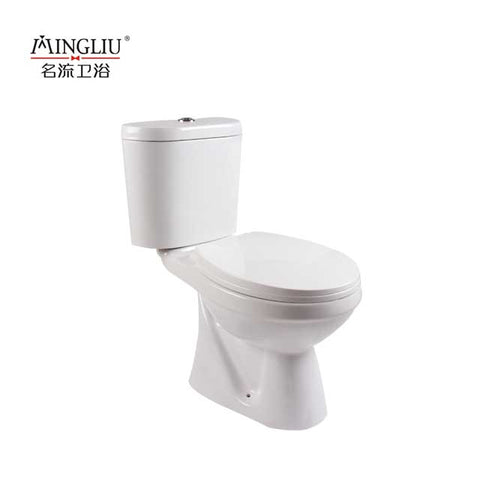 Saving Space Bathroom Ceramic Two Piece Wc Toilet Price - FOB:US$ - MOQ: