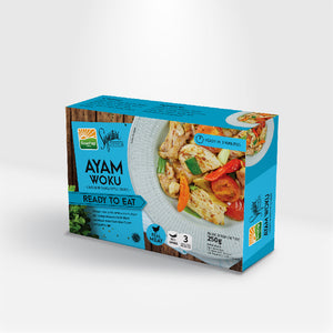 Foods Instant Ready To Eat Meals Chicken In Woku Style Sauce -  FOB:US$ - MOQ: