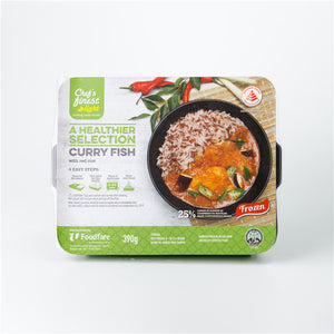Singapore Chef's Finest Curry Fish with Red Rice 390g - FOB:US$ - MOQ:
