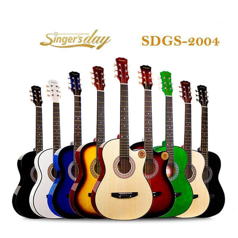 Singer's Day Sdgs-2004 Chinese Classical Acoustic Guitar - FOB:US$ - MOQ: