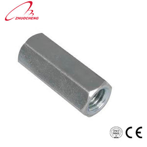Stainless Steel Din6334 Long Hex Coupling Nut - FOB:US$ - MOQ:
