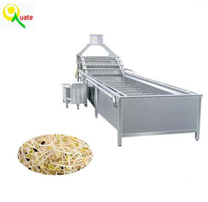 Stainless Steel Automatic Vibration Sheller Machine For Shelling Soybean Sprouts And Mung Bean Sprouts - FOB:US$ - MOQ: