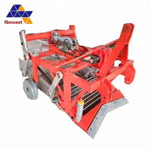 Tractor Driving Diesel Fuel Dry Peanut Picker/tractor Garlic Digger/combined Harvester For Peanut - FOB:US$ - MOQ: