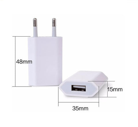 Universal 5v 1a Usb Wall Travel Charger Adapter For Iphone Mobile Eu Us Plug - FOB:US$ - MOQ: