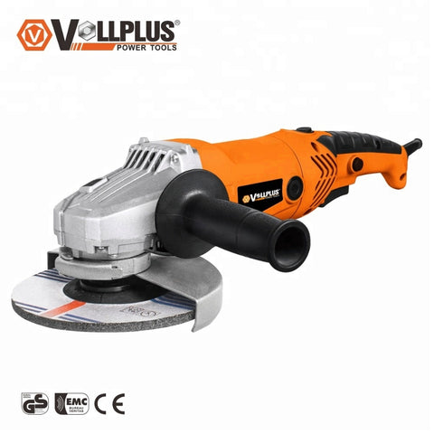 Vollplus Vpag1039 150/180mm 1500w 2018 Electric Power Tools China Angle Grinder - FOB:US$ - MOQ:
