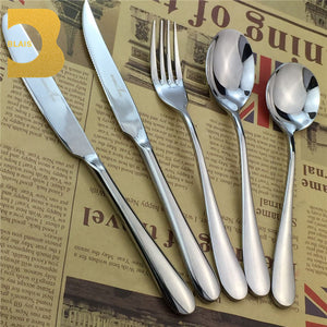 Vietnam Stainless Steel Flatware Sets Spoon & Fork 18/10 Stainless Steel Cutlery - FOB:US$ - MOQ: