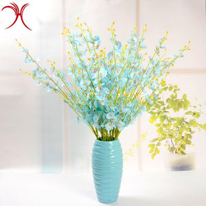Wedding Decoration Party Handheld Plastic Artificial Flowers - FOB:US$0.57 - MOQ:1000
