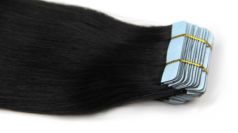 Wholesale 100 Remy Double Drawn Brown Tape Hair Extensions - FOB:US$ - MOQ: