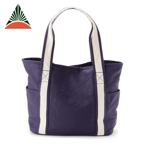 Wholesale Factory Canvas Women Tote Bag - FOB:US$ - MOQ: