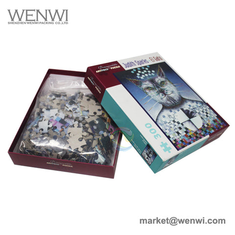 Wholesale Manufacturers Custom 1000 Piece Jigsaw Puzzles For Adults - FOB:US$ - MOQ: