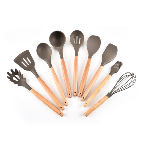 Eco-friendly Kitchen Utensil Set Cooking Tools - FOB:US$8.79- MOQ:100