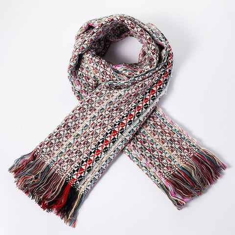 Winter Acrylic Cashmere Soft Material Plain Scarf - FOB:US$ - MOQ: