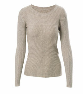 Womens Autumn Winter Cashmere Blended Sweater - FOB:US$ - MOQ: