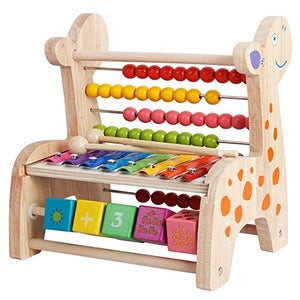 Wooden Multifunctional Abacus Counting and Math Learning - FOB:US$7.59 - MOQ:500