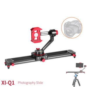 Xi-q1 Professional Camera Video Slider Rail Track Dolly Phone Stabilizer For Dv Dslr Camera - FOB:US$ - MOQ: