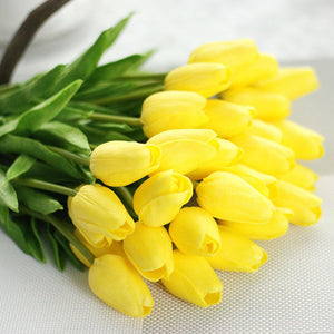 Artificial House Flower Artificial Flower Wholesale Artificial Wedding Flower - FOB:US$ - MOQ: