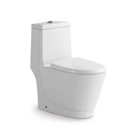 Chinese Cheap Ceramic Washdown One Piece Toilet - FOB:US$ - MOQ: