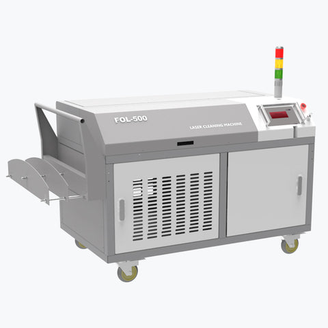 Cl 1000w High Power Laser Cleaning System Laser Cleaning Machine For Oil Oidation And Oil Grease Removal - FOB:US$ - MOQ: