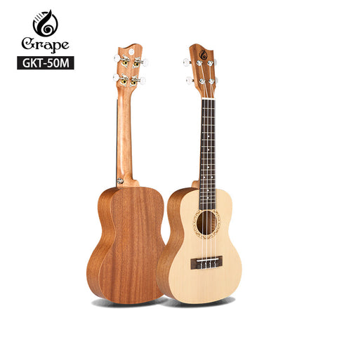 Custom Brand Satin Finish Beginner Ukulele Tenor - FOB:US$ - MOQ: