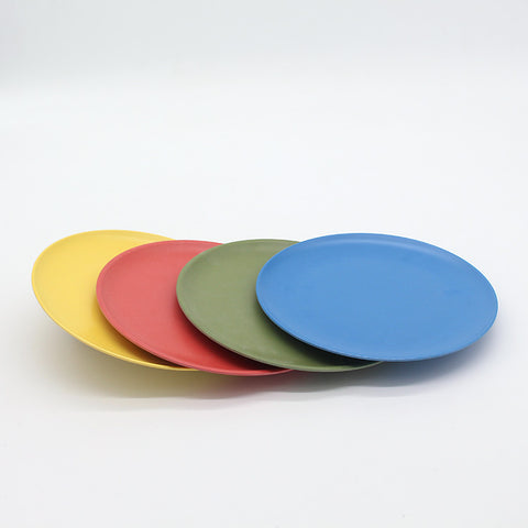 Factory Customized Products Decals Bamboo Fiber Dinner Plate - FOB:US$ - MOQ: