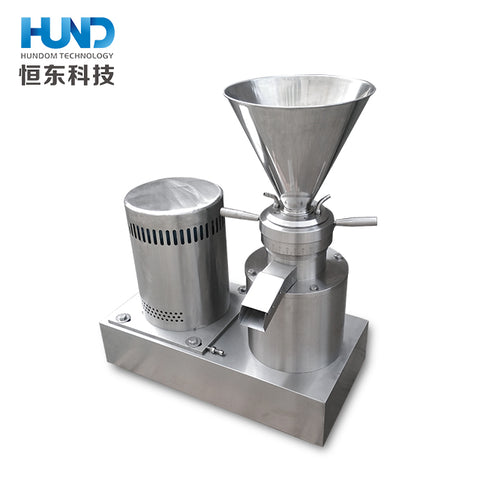 Full Automatic Peanut Butter Coffee Meat Cutting/nut Grinder Machine - FOB:US$ - MOQ: