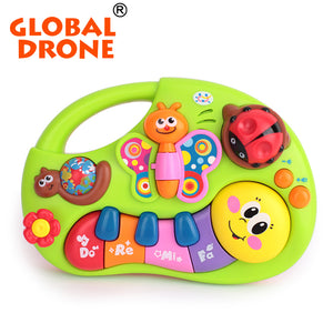 Global Drone Huile 927 New Popular Musical Instrument Toy Baby Kids Animal Farm Piano - FOB:US$ - MOQ: