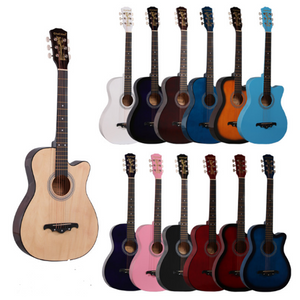 38 inches Handmade Wood Guitar - FOB:US$27.50 - MOQ:10