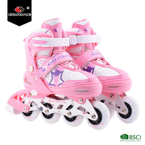 Inline Skate Rollerblade With Pu Wheel For Kids - FOB:US$ - MOQ: