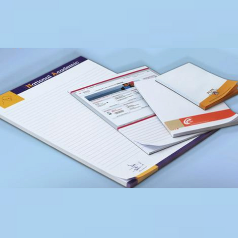 A4, A5, A6 Custom Paper Notepad with Logo Printing - FOB:US$1.10 - MOQ:1000