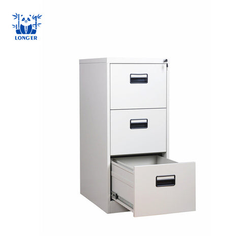 Office Furniture 3 Drawer Cabinet / Colorful Safe Metal Cabinet/office Equipment - FOB:US$ - MOQ: