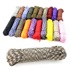 Outdoor White Rope Where Can I Buy Paracord Rope Color 550 Paracord - FOB:US$ - MOQ: