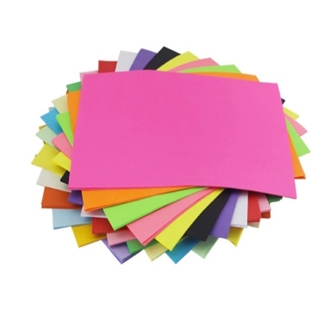 80gsm A4 Multi Colors Color Woodfree Writing Paper for Office - FOB:US$0.93 - MOQ:2500