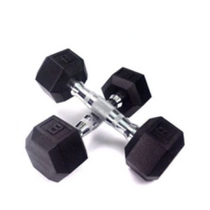 Popular Free Weight 1- 50 Kg Rubber Coated Hex Dumbbell - FOB:US$1.32 - MOQ:2000 Kilogram