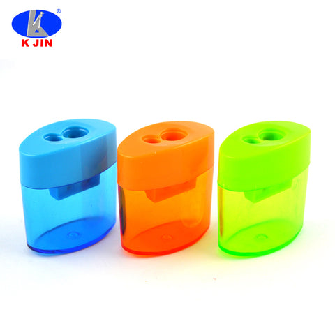 Plastic Colorful Pencil Sharpener For Kids Factory Manual Pencil Sharpeners - FOB:US$ - MOQ: