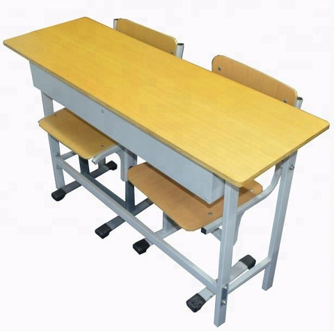 Primary Middle School Desk Table Adjustable Student Desk And Chair School Chairs For Sale - FOB:US$ - MOQ: